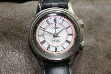 Soviet Poljot signal watch alarm wristwatch USSR Russian kirovskie 1mchz 18j 2