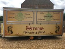 16ft Mobile Catering Van/ Trailer Mexican Street Kitchen