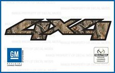 set of 2: 07 <-> 13 GMC Sierra 4x4 decals Realtree AP Camo GM HD stickers side