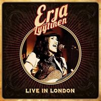ERJA LYYTINEN - LIVE IN LONDON (CD+DVD)  CD + DVD NEW!