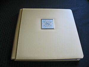 Creative Memories Yellow Medallion Photo Album12x12 Scrapbook Pages/ Old Style