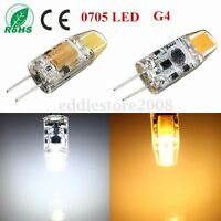 Mini 6W G4 COB Led Spotlight Bulb Light 0705 Lamp Cool/Warm White AC/DC 10-20V