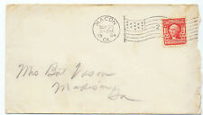 US 1904 Postal History Cover #319 Macon, Georgia to Madison Flag Cancel Z