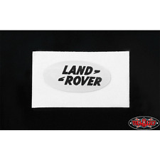 RC4WD Land Rover Emblem for Defender D90 Body (White) VVV-C0202