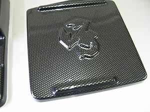 FIAT 500 ABARTH  CARBON FIBER ABS  FUSE LID COVER