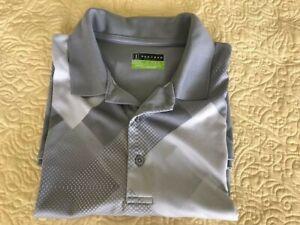 PGA Tour Men's Gray Golf Shirt - Size Large