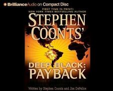 Deep Black: PAYBACK by Stephen Coonts and Jim DeFelice (CD, Unabridged) NEW