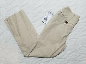 1 NWT LISETTE LSPORT WOMEN'S PANTS, SIZE: 0, COLOR: BEIGE (J179)