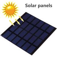 Mini 6V 1.5W Solar Panel Power Module For Light Battery Cell Phone Charger DIY