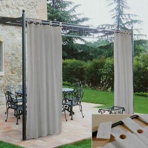 Zelt Gartenlaube Morbidissimi Wasserabweisend Mit Passanten 140x270 CM - Grau