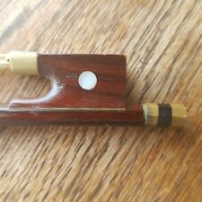 Vintage Violin Bow 3/4 smooth quality newly rehaired upgrade your supplied bow