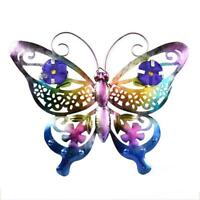 Large 3D Butterfly Garden Decorative Wall Art Fence Sculpture Ornament Gifts