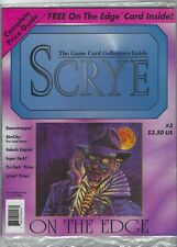SCRYE Magazine Issue #7 MAY//JUNE 1995 SEALED CCG CARD GAME GAMING 5 card Insert