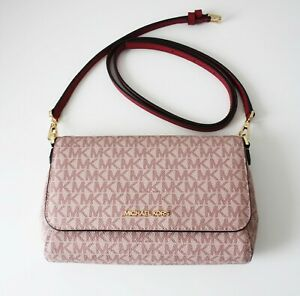 MICHAEL KORS Tasche JET SET ITEM MD POUCHETTE CROSSBODY berry multi
