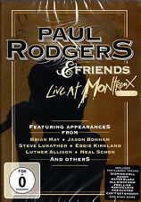 PAUL RODGERS & FRIENDS live at montreux 1994 DVD NEU OVP/Sealed