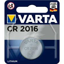 4 x Varta CR 2016 3V Batterie Lithium Knopfzelle 6016 DL2016 im Blister 87mAh