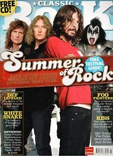 Classic Rock Magazine issue 120 - DAVE GROHL cover - 2008 - SUMMER FESTIVALS