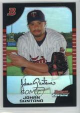 2005 Bowman Chrome Refractor Johan Santana #127