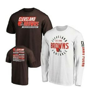 Officially Licensed NFL 3-in-1 T-Shirt Combo by Fanatics - Browns