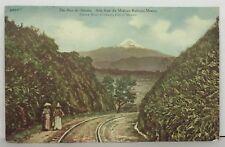 PostCard The Pico De Orizaba Mexican Railway Mexico Posted 11-30-1909 Vintage