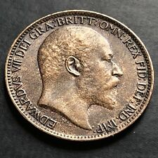 More details for 1907-one farthing coin-king edward vii-#cx305