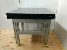 crated TMC 78 SERIES OPTICAL BREADBOARD TABLE, ADJUSTABLE HEIGHT BENCH, lab