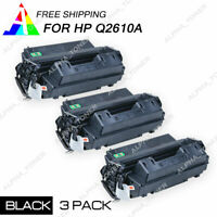 3PK Q2610A 10A Compatible Toner Cartridge for HP LaserJet 2300 2300L 2300N 2300D