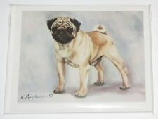 Pug Notecards Envelopes Set of 6 New Best Friends by Ruth Maystead Dogs Fawn