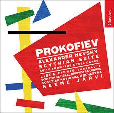Neeme Järvi, S. Prokofiev - Alexander Nevsky [New CD]
