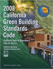 2008 California Green Building Standards Code, Title 24, Part 11