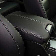 NICE Leather Armrest Center Console Lid Cover for Honda Accord 2008-2012 BALCK