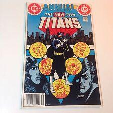 The New Teen Titans Annual #2 (DC Comics, 1983) 1st Appearance Vigilante - No 2