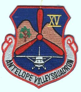 Civil Air Patrol Antelope Valley Cadet Squadron 15 - patch (dark blue)
