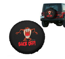 "Spare Wheel Covers 16"" Back Off Pattern Universal For All Car Tire Covers"
