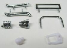 Chrome Body Parts for Dash Hot Rod / Supermodified Bodies by JAG Hobbies