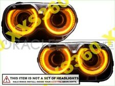 ORACLE Headlight HALO RING KIT for Dodge Challenger 15-18 AMBER LED Angel Eyes