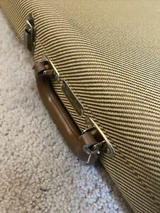 Fender G&G American Vintage Reissue Relic Tweed Stratocaster Tele Case USA 1990s