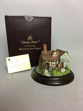 Jon Stevens Dovecote Cottage by Country Artists Handcrafted in England Tag & Box