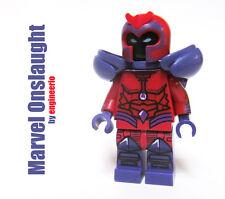 LEGO Custom - Onslaught -  Marvel Super heroes mini figure Red Skull ironman