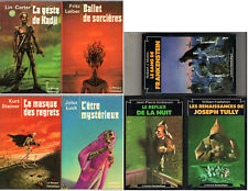 LOT 7 TITRES COLLECTION LE MASQUE FANTASTIQUE ¤ FRITZ LEIBER/KURT STEINER/CARTER