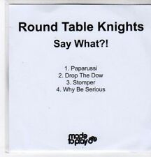 (BO801) Round Table Knights, Say What?! - 2011 DJ CD