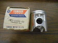 NOS Vintage Yamaha 0.50 2nd O/S Piston 1976 YZ125 1976 - 1981 YZ100 2K5-11636-00