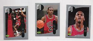 1998 Upper Deck MJ Sticker Collection Set 1-138 Books $200+