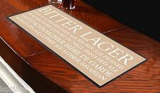 BEER BUSBLIND NEUTRAL BAR RUNNER IDEAL FOR HOME COCKTAIL PARTY BAR MAT PUB DECOR