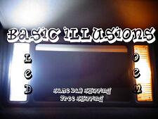 4X 29MM COOL WHITE 3SMD 5050 LED SUN VISOR VANITY LIGHT BULB 6614 6612 6641FUSE