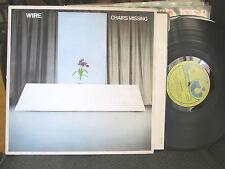 WIRE Chairs Missing orig UK 1978 Punk LP OOP vinyl emi harvest shsp4093 rare!!