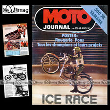 MOTO JOURNAL N°350 GILERA 125 CROSS ESSAI YAMAHA SR 500 BPS 125 YAK TRIAL 1978