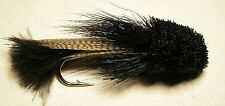Zoo Cougar Streamer Black #6  Big Trout