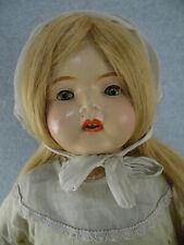 "26"" vintage composition & cloth Uneeda mama doll baby doll with sleepy eyes"