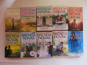 LOT OF 10 BRENDA NOVAK P/B BKS~Romantic Suspense, Romance~ PREOWNED